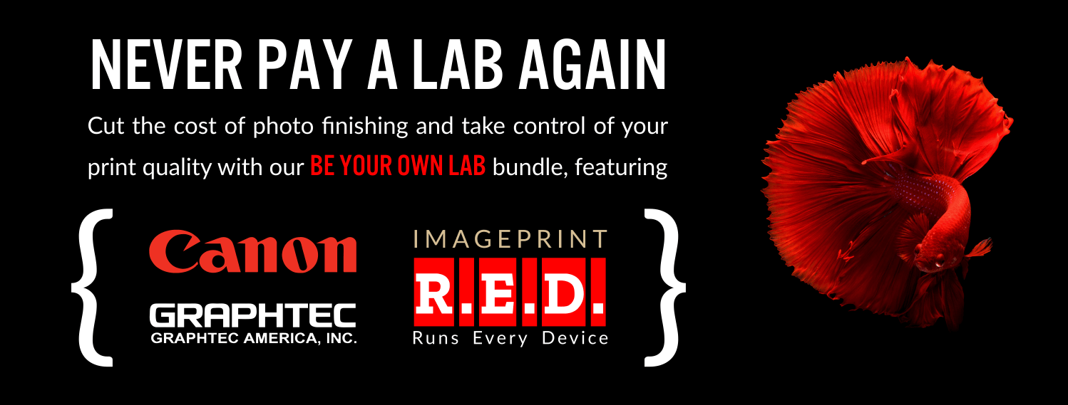Be Your Own Lab with Canon, Graphtec and R.E.D. productivity software!