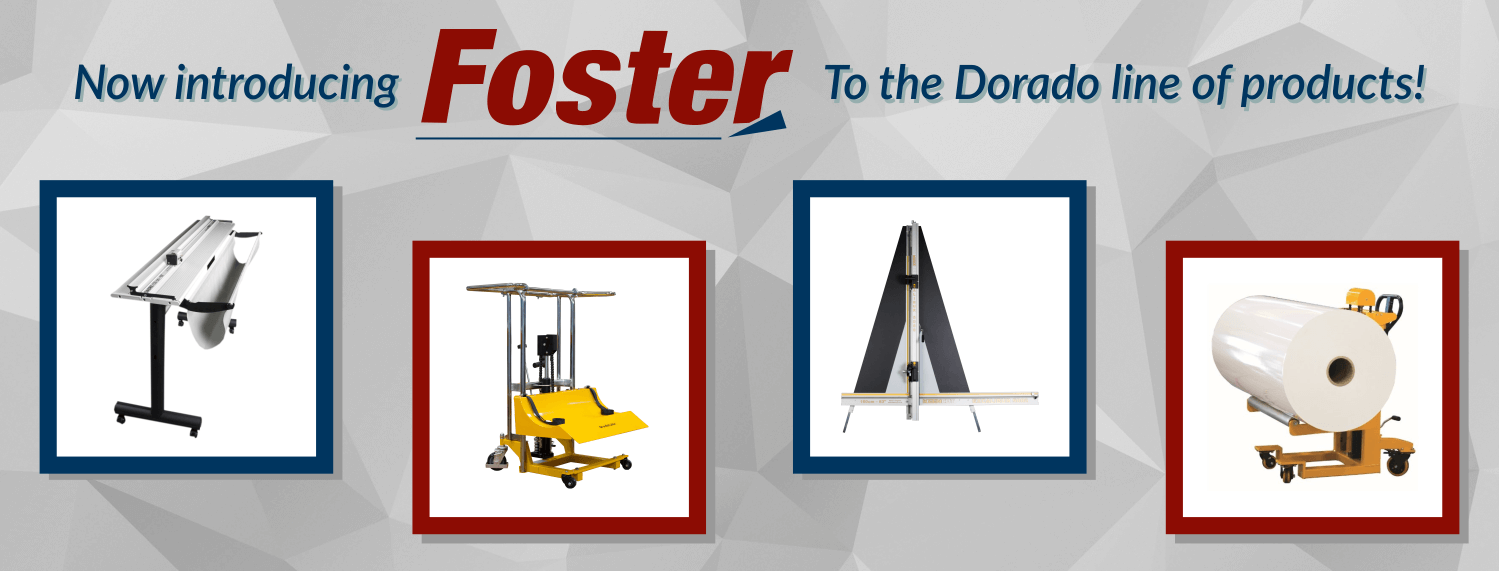 Now Introducing Foster Products to the Dorado Line