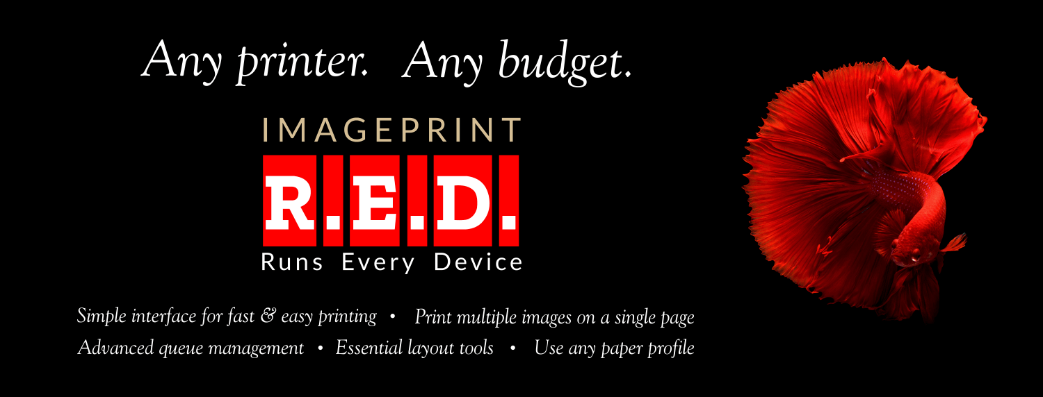 Increase productivity with Imageprint R.E.D.